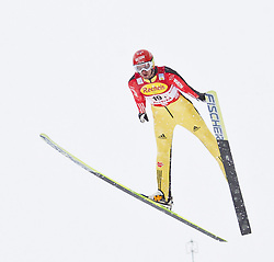 16.12.2011, Casino Arena, Seefeld, AUT, FIS Nordische Kombination, Ski Springen Team HS 109, im Bild Bjoern Kircheisen (GER) // Bjoern Kircheise of Germany during Ski jumping the team competition at FIS Nordic Combined World Cup in Sefeld, Austria on 20111211. EXPA Pictures © 2011, PhotoCredit: EXPA/ P.Rinderer