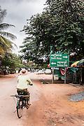 "Preah Da, ""Num Banh Chok village"", at the cross roads to Banteay Srei andto Banteay Samre, Siem Reap"