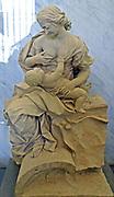 Giuseppe Mazzuoli, Volterra, 1644 - Rome, 1725.  'Charity' Terracotta sculpture
