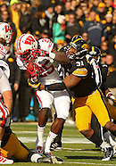 NCAA Football - Wisconsin at Iowa - November 2, 2013