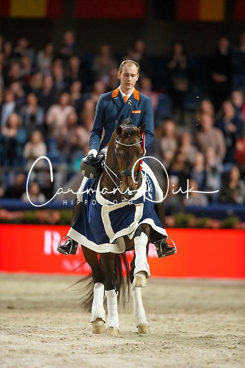 Werth Isabel, (GER), Weihegold <br /> Reem Acra FEI World Cup Dressage<br /> Jumping Amsterdam 2016<br /> © Hippo Foto - Dirk Caremans<br /> 30/01/16