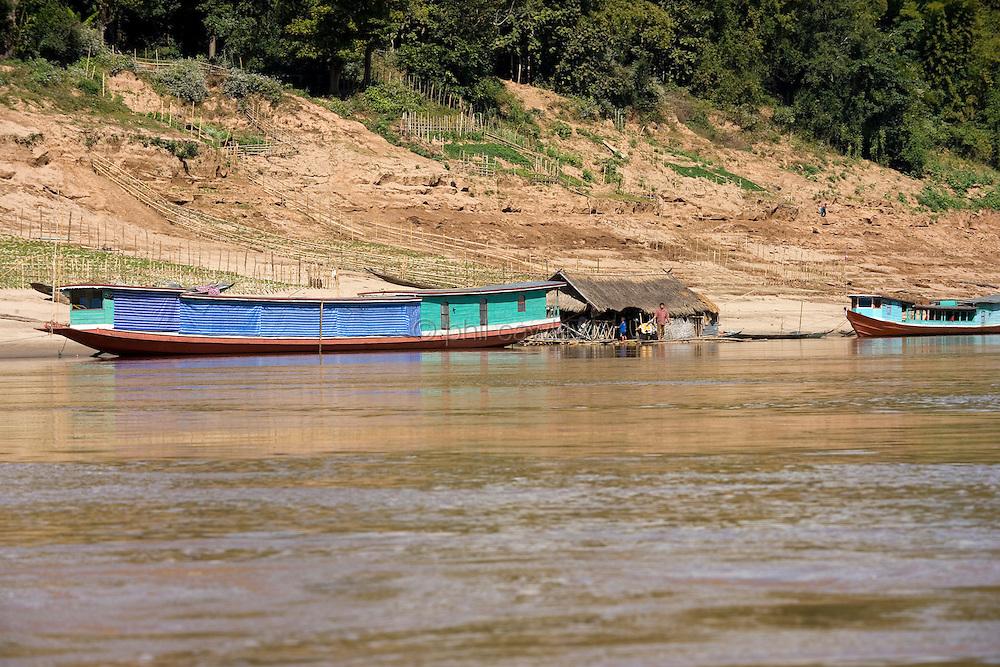 The Mekong river northern Laos