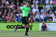 Forest Green Rovers Gavin Gunning(16) during the Pre-Season Friendly match between Forest Green Rovers and Leeds United at the New Lawn, Forest Green, United Kingdom on 17 July 2018. Picture by Shane Healey.