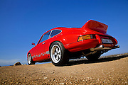 Image of a 1972 Porsche 911 in Monterey, California, America west coast, property released