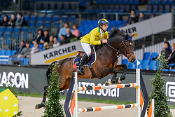 Mansur Guerios Yuri, BRA, Alfons Ra<br /> Stuttgart - German Masters 2019<br /> © Hippo Foto - Stefan Lafrentz<br /> 14/11/2019