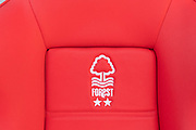 Forest seat in the dugout before the EFL Sky Bet Championship match between Nottingham Forest and Luton Town at the City Ground, Nottingham, England on 19 January 2020.