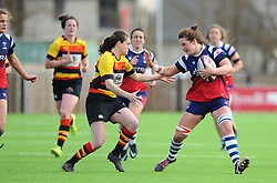 Poppy Leitch of Bristol Bears Women in action- Mandatory by-line: Nizaam Jones/JMP - 23/03/2019 - RUGBY - Shaftesbury Park - Bristol, England - Bristol Bears Women v Richmond Women- Tyrrells Premier 15s