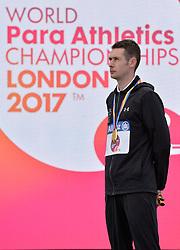 23/07/2017 : Michael McKillop (IRL), Gold Medal, T37, Men's 1500m, at the 2017 World Para Athletics Championships, Olympic Stadium, London, United Kingdom