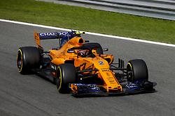 September 2, 2018 - Monza, Italy - Motorsports: FIA Formula One World Championship 2018, Grand Prix of Italy, ..#2 Stoffel Vandoorne (BEL, McLaren F1 Team) (Credit Image: © Hoch Zwei via ZUMA Wire)