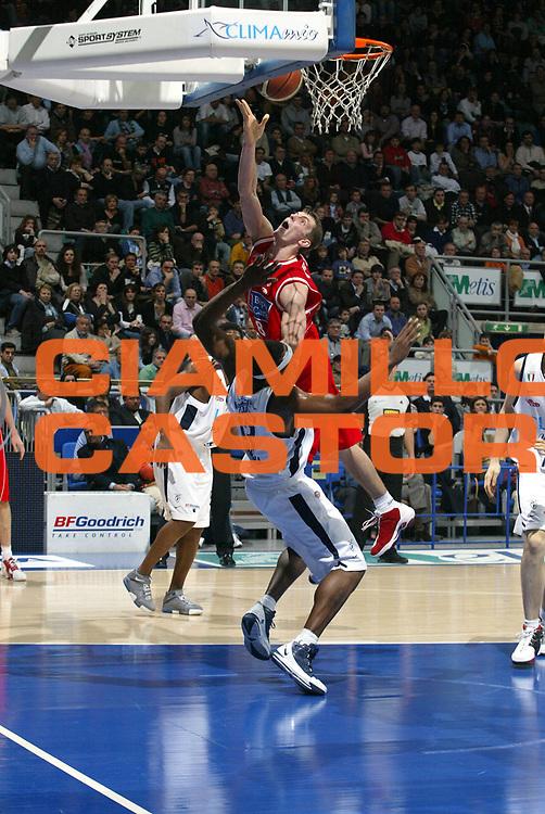 DESCRIZIONE : Bologna Lega A1 2005-06 Climamio Fortitudo Bologna Bipop Carire Reggio Emilia<br />GIOCATORE : Ortner<br />SQUADRA : Bipop Carire Reggio Emilia<br />EVENTO : Campionato Lega A1 2005-2006 <br />GARA :Climamio Fortitudo Bologna Bipop Carire Reggio Emilia<br />DATA : 19/03/2006 <br />CATEGORIA : Tiro <br />SPORT : Pallacanestro <br />AUTORE : Agenzia Ciamillo-Castoria/L.Villani