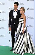 Wimbledon finalist Novak Djokovic with girlfriend model Jelena Ristic host a gala dinner at The Roundhouse in Camden, London on July, 8, 2013.<br /> Photo By Ki Price
