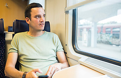 Rok Viskovic going to Zagreb for covering Fan zone of EURO 2016 1/8 Final match between Croatia and Portugal, on June 24, 2016 in Zagreb, Croatia. Photo by Vid Ponikvar / Sportida