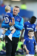 Everton striker Wayne Rooney (10) salutes the fans at the end of  the Premier League match between Everton and Southampton at Goodison Park, Liverpool, England on 5 May 2018. Picture by Craig Galloway.