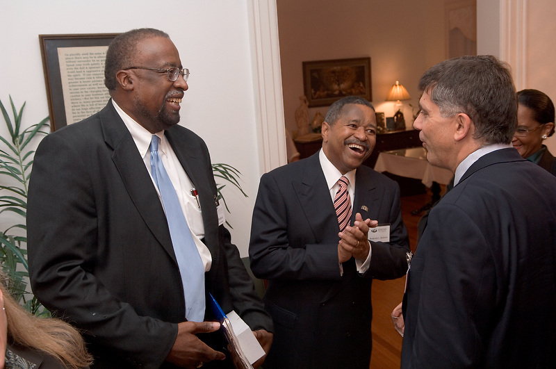 Celebration at Memad....Reception at President's House
