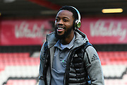 Nathaniel Chalobah (14) of Watford on the pitch ahead of the Premier League match between Bournemouth and Watford at the Vitality Stadium, Bournemouth, England on 12 January 2020.