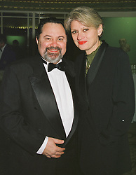 MR & MR ALEX EL KAYEM, he is M/D of Club Med UK. at a ball in London on 27th February 1999.MOU 21