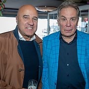 NLD/Volendam/20190522 - Boekpresentatie Keje Molenaar – Meesterlijk, journalist John van den Heuvel en Maarten Spanjer