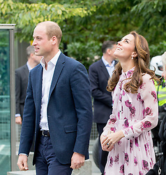 LONDON- UK- 10th Oct 2016: Duke and Duchess of Cambridge with Prince Harry celebrate World Mental Health day with a 'Heads Together' event at County Hall in Westminster.<br /> <br /> Photograph by Ian Jones