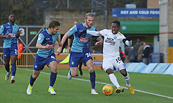 Siriki Dembele of Peterborough United in action against Wycombe Wanderers - Mandatory by-line: Joe Dent/JMP - 03/11/2018 - FOOTBALL - Adam's Park - High Wycombe, England - Wycombe Wanderers v Peterborough United - Sky Bet League One