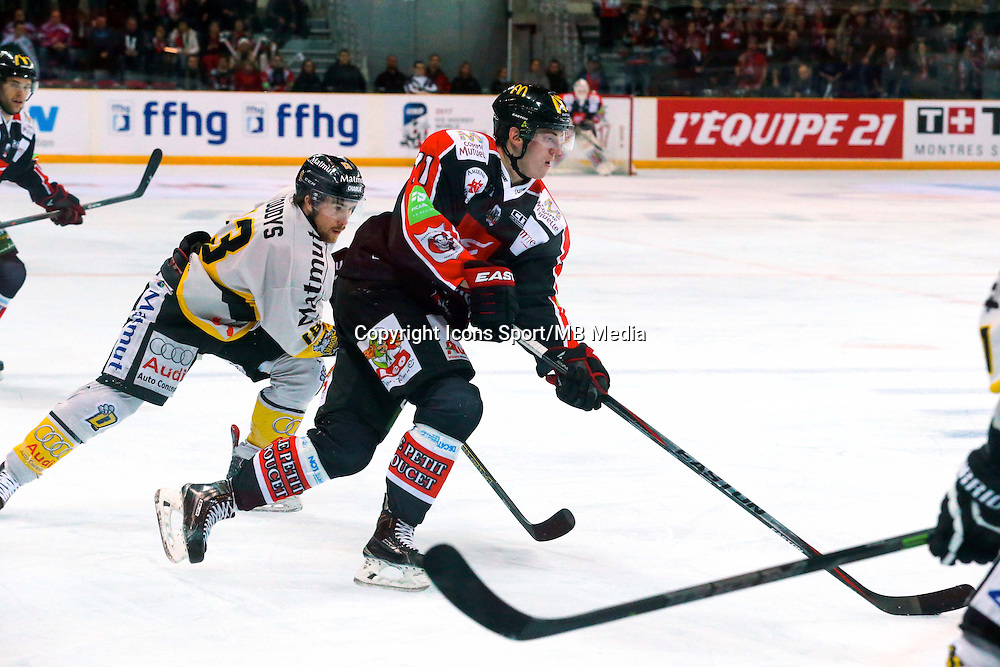 Shayne Stockton - 25.01.2015 - Rouen / Amiens - Finale Coupe de France 2015 de Hockey sur glace<br /> Photo : Xavier Laine / Icon Sport