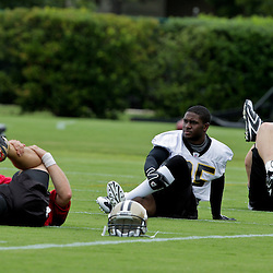 05 June 2009: Saints running back Reggie Bush (25) participates in drills during the New Orleans Saints Minicamp held at the team's practice facility in Metairie, Louisiana.