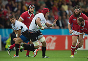 Leicester, Great Britain, Romanian skipper and No. 8. Mihai MACOVEI, during the Pool D game, Canada vs Romania.  2015 Rugby World Cup,  Venue, Leicester City Stadium, ENGLAND.  Tuesday    06/10/2015.   [Mandatory Credit; Peter Spurrier/Intersport-images]