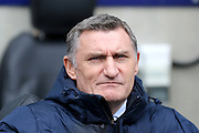 Coventry City Manager Tony Mowbray during the Sky Bet League 1 match between Coventry City and Bury at the Ricoh Arena, Coventry, England on 13 February 2016. Photo by Chris Wynne.