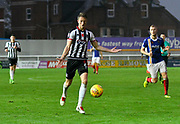 Danny Collins (6) of Grimsby Town during the EFL Sky Bet League 2 match between Exeter City and Grimsby Town FC at St James' Park, Exeter, England on 11 November 2017. Photo by Graham Hunt.