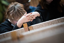 1 December 2017, Geneva, Switzerland: On World AIDS Day 2017, the World Council of Churches – Ecumenical Advocacy Alliance (WCC-EAA) brought together representatives of faith-based organizations as well as public sector and inter-governmental organizations at the Ecumenical Centre in Geneva on 1 December. The event saw a commemorative prayer service, an interactive art exhibition, and a round table discussion on how to improve access to testing and treatment for children and adolescents living with HIV, particularly by means of education.