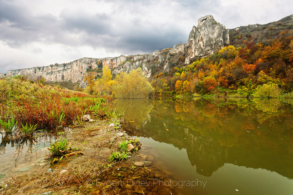 Iskar gorge in autumn