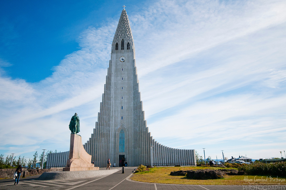 The Hallgrímskirkja or Hallgrímur's Church is a Lutheran church in Reykjavik, Iceland.