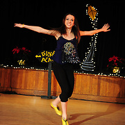 "Demi Remick performs in the show ""Ring in the Rhythm! A Jazz & Tap Holiday"" at The Dance Hall in Kittery, ME"