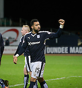 Dundee&rsquo;s Kane Hemmings celebrates his second goal  - Dundee v Falkirk, William Hill Scottish Cup Fourth Round at Dens Park <br /> <br />  - &copy; David Young - www.davidyoungphoto.co.uk - email: davidyoungphoto@gmail.com