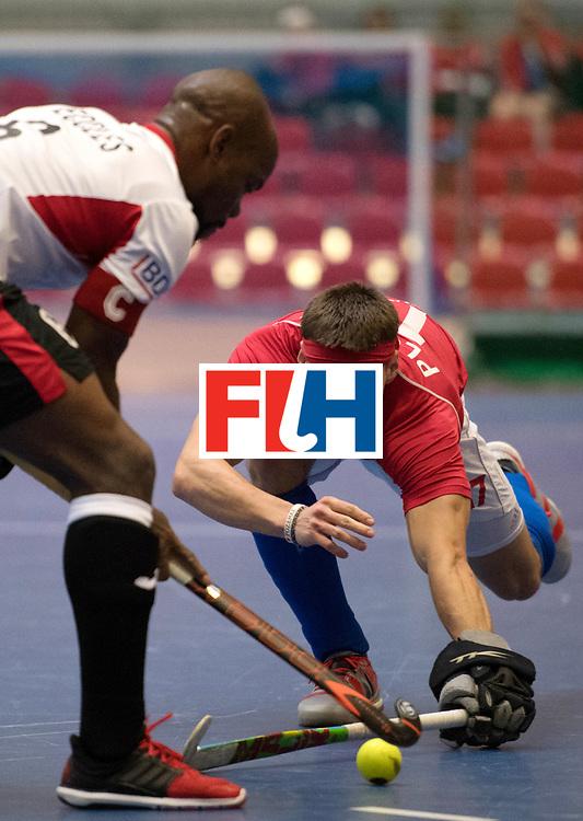 BERLIN - Indoor Hockey World Cup<br /> Czech Republic - Trinidad &amp; Tobago<br /> foto: PLOCH&Yacute; Lukas<br /> WORLDSPORTPICS COPYRIGHT FRANK UIJLENBROEK