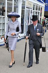 The EARL & COUNTESS OF HALIFAX at day 2 of the 2011 Royal Ascot Racing festival at Ascot Racecourse, Ascot, Berkshire on 15th June 2011.