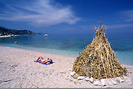 beach between Skala and Poros, Kefalonia Greece....travel, lifestyle