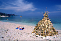 beach between Skala and Poros, Kefalonia Greece....travel, lifestyle