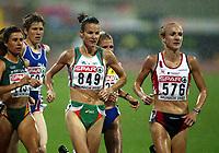 Friidrett, 6.august 2002. Europamesterskapet 2002 München. Paula Radcliffe, England,  Sonia O´Sullivan, Ireland. 10000 meter.