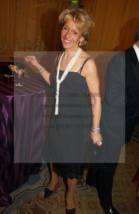 DUCHESS OF MARLBOROUGH at the Cartier Racing Awards 2006 held at the Four Seasons Hotel, Hamilton Place, London on 15th November 2006.<br />