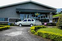 Indonesia, Java, Cisarua. A tea factory below the Tangkuban Prahu volcano north of Bandung.