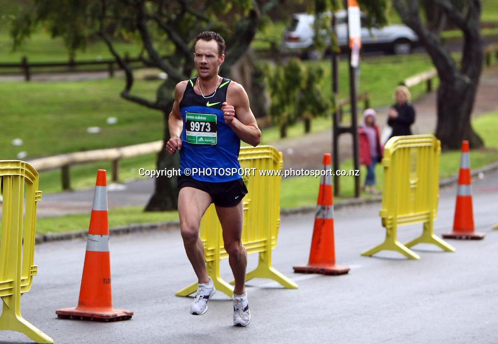 Dale Warrander.<br />Adidas Auckland Marathon, Sunday 2 November 2008. Photo: Renee McKay/PHOTOSPORT