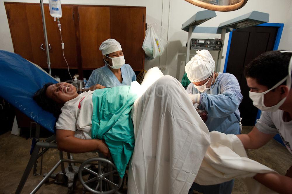 Birth at Santa Clotilde Centro de Salud