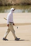Abu Dhabi, United Arab Emirates (UAE). March 20th 2009.<br /> Al Ghazal Golf Club.<br /> 36th Abu Dhabi Men's Open Championship.<br /> Riad Majali