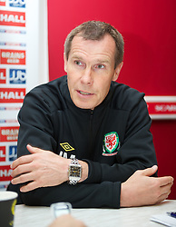 LLANELLI, WALES - Saturday, September 15, 2012: Wales' manager Jarmo Matikainen after the 2-1 defeat to Scotland during the UEFA Women's Euro 2013 Qualifying Group 4 match at Parc y Scarlets. (Pic by David Rawcliffe/Propaganda)