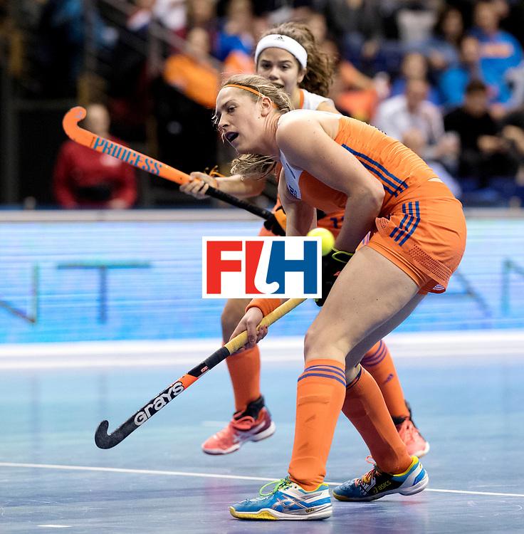 BERLIN - Indoor Hockey World Cup<br /> Quarterfinal 4: Netherlands - Czech Republic<br /> foto: <br /> WORLDSPORTPICS COPYRIGHT FRANK UIJLENBROEK