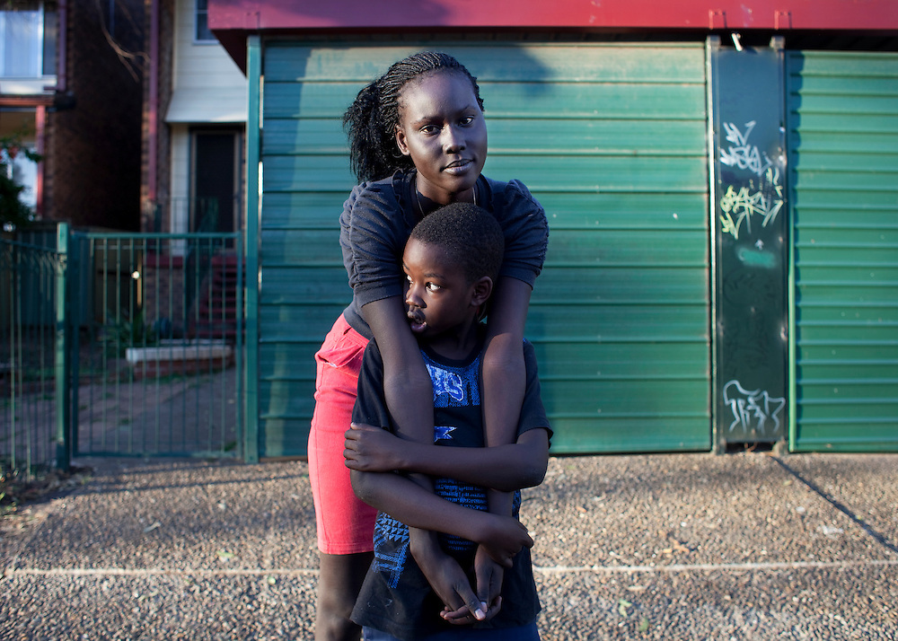 Sudanese Refugees, Susan and her brother - The Hub