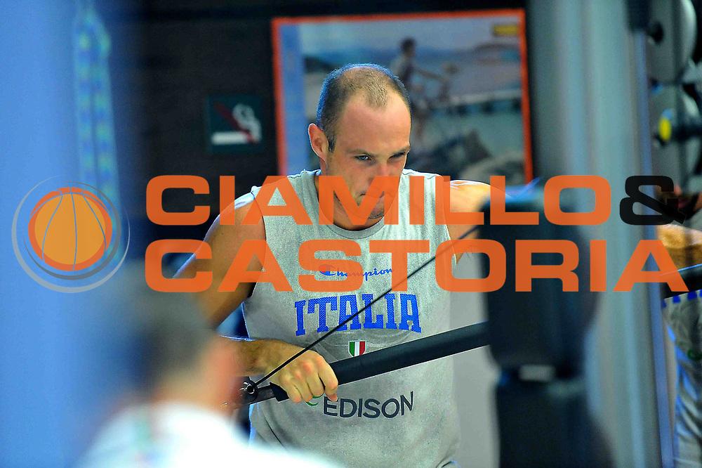 DESCRIZIONE : Folgaria Allenamento Raduno Collegiale  Nazionale Italia Maschile <br /> GIOCATORE : Marco Cusin<br /> CATEGORIA : allenamento <br /> SQUADRA : Nazionale Italia <br /> EVENTO :  Allenamento Raduno Folgaria<br /> GARA : Allenamento<br /> DATA : 01/08/2013 <br />  SPORT : Pallacanestro<br />  AUTORE : Agenzia Ciamillo-Castoria/ManoloGreco<br />  Galleria : FIP Nazionali 2013<br />  Fotonotizia : Folgaria Allenamento Raduno Collegiale  Nazionale Italia Maschile <br />  Predefinita :
