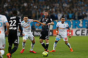 Lucas Ocampos of Olympique de Marseille during the French Championship Ligue 1 football match between Olympique de Marseille and Olympique Lyonnais on march 18, 2018 at Orange Velodrome stadium in Marseille, France - Photo Philippe Laurenson / ProSportsImages / DPPI