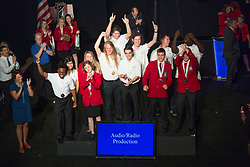 The 2017 SkillsUSA National Leadership and Skills Conference Competition Medalists were announced Friday, June 23, 2017 at Freedom Hall in Louisville. <br /> <br /> Audio/Radio Production<br /> <br /> 	Team Q (consisting of Kyle Shemanskis, Brett Hawran)<br />   High School	 A I Prince Technical High School<br />   Gold	 Hartford, CT<br /> Audio/Radio Production	Team I (consisting of Connor Vance, Andrew Robertson)<br />   High School	 Middle Creek High School<br />   Silver	 Apex, NC<br /> Audio/Radio Production	Team S (consisting of Salina Prak, Keenan Winston)<br />   High School	 Advanced Career Education Center@Highland Springs<br />   Bronze	 Highland Springs, VA<br /> Audio/Radio Production	Team A (consisting of Chase Mcknight, Andrew E West)<br />   College	 Utah Valley University<br />   Gold	 Orem, UT<br /> Audio/Radio Production	Team Z (consisting of Shirocco Williams, Charles Ames)<br />   College	 Metropolitan Community College<br />   Silver	 Omaha, NE<br /> Audio/Radio Production	Team C (consisting of Annie Fuller, Rachel Torres)<br />   College	 Forsyth Tech Community College<br />   Bronze	 Winston-Salem, N