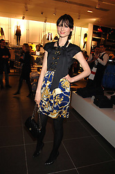 Singer SOPHIE ELLIS-BEXTOR at a party to celebrate the opening of the new H&M store at 234 Regent Street, London on 13th February 2008.<br /><br />NON EXCLUSIVE - WORLD RIGHTS